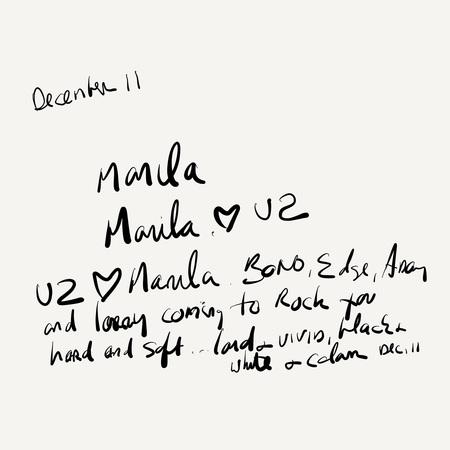 U2 > News > 'It's a love song'